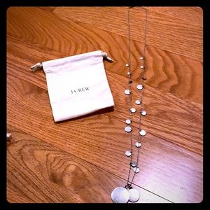 J. Crew necklace silver